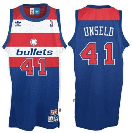 Wes Unseld Washington Bullets #41 Retro Swingman Adidas NBA,HZWUCOL566,CLICK IMAGE TO ZOOM