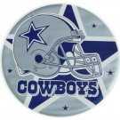 Mini 7 Inch Round Pool Art - Dallas Cowboys (Set of Four Emblems)