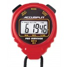 ACCUSPLIT A601X PRO SURVIVOR ™ Stopwatch - Red