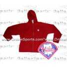 Philadelphia Phillies Dark Red Hoody Jacket from Antigua (Women's)