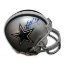 Troy Aikman Autographed Dallas Cowboys Mini Helmet
