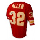 Marcus Allen Autographed Kansas City Chiefs Red Throwback Jersey