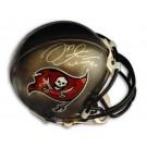 "Mike Alstott Autographed Tampa Bay Buccaneers Riddell Mini Helmet Inscribed with ""#40"""