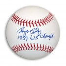 "Roger Craig Autographed MLB Baseball Inscribed ""1959 WS Champs"""