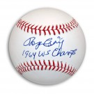 "Roger Craig Autographed MLB Baseball Inscribed ""1964 WS Champs"""