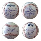 Autographed MLB Baseball (Signed by 13 1986 New York Mets)