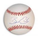 Brandon Backe Autographed MLB Baseball