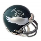 "Fred Barnett Autographed Philadelphia Eagles Mini Helmet Signed ""Arkansas Fred Barnett"""