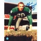 "Chuck Bednarik Autographed 8"" x 10"" Unframed Photograph Inscribed with ""HOF 67"""