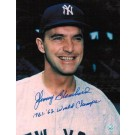 """Johnny Blanchard New York Yankees Autographed 8"""" x 10"""" Unframed Photograph Inscribed with """"1961-62 World Champs"""""""