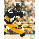 "Mel Blount Autographed ""Stance"" Pittsburgh Steelers 16"" x 20"" Photo"