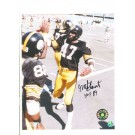 "Mel Blount Pittsburgh Steelers Autographed 8"" x 10"" (With Lynn Swann) Photograph Inscribed with ""HOF 89"" (Unframed)"