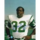 """Emerson Boozer New York Jets Autographed 8"""" x 10"""" Unframed Photograph Inscribed with """"SB III Champs"""""""