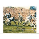 "Emerson Boozer New York Jets Autographed 8"" x 10"" Horizontal Photograph with ""32"" Inscription (Unframed)"