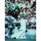 """Emerson Boozer Autographed """"Vs Dolphins"""" New York Jets 8"""" x 10"""" Photo"""