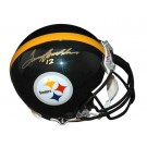 Terry Bradshaw Autographed Pittsburgh Steelers Riddell Pro Line Helmet