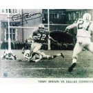 "Timmy Brown Philadelphia Eagles Autographed in Black 8"" x 10"" Unframed Photograph"