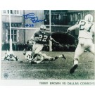 "Timmy Brown Philadelphia Eagles Autographed in Blue 8"" x 10"" Unframed Photograph"