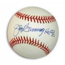 "Jim Bunning Autographed National League Baseball Inscribed with ""HOF 96"""