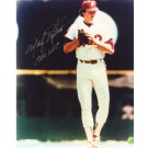 "Marty Bystrom Autographed Philadelphia Phillies 8"" x 10"" Photograph Inscribed with ""1980 WSC"" (Unframed)"