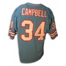 Earl Campbell Autographed Houston Oilers Blue Throwback Football Jersey