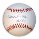 "Steve Carlton Autographed Baseball Inscribed ""HOF 94"""
