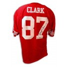 Dwight Clark Autographed San Francisco 49ers NFL Throwback Jersey