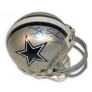 Dexter Coakley Dallas Cowboys Autographed Riddell Mini Football Helmet