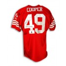"Earl Cooper San Francisco 49ers Autographed Throwback Jersey Inscribed with ""SB 16,19 Champs"""