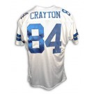 Patrick Crayton Dallas Cowboys Autographed Throwback NFL Football Jersey (White)