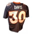 Terrell Davis Autographed Denver Broncos New Style Blue Jersey
