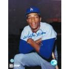 """Willie Davis Autographed """"Pose"""" Los Angeles Dodgers 8"""" x 10"""" Photo"""