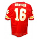 "Len Dawson Autographed Kansas City Chiefs Throwback Red Jersey Inscribed with ""SB IV MVP"""
