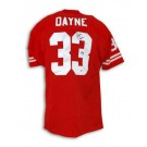 "Ron Dayne Autographed University of Wisconsin Red Throwback Jersey Inscribed ""99 H"""