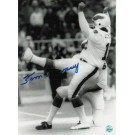 "Tom Dempsey Philadelphia Eagles Autographed Black and White 8"" x 10"" Unframed Photograph"