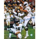 "Tom Dempsey Philadelphia Eagles Autographed 8"" x 10"" Unframed Photograph"