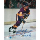 "Marcel Dionne Autographed ""Purple Jersey"" Los Angeles Kings 8"" x 10"" Photo Inscribed ""HOF 92"""