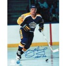 """Marcel Dionne Autographed """"Blue Jersey"""" Los Angeles Kings 8"""" x 10"""" Photo Inscribed """"HOF 92"""""""