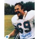 "Conrad Dobler Autographed Buffalo Bills 8"" x 10"" Photo"