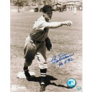 "Bobby Doerr Boston Red Sox Autographed 8"" x 10"" Throwing Photograph (Unframed)"