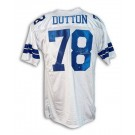 "John Dutton Dallas Cowboys Autographed Throwback Jersey Inscribed with ""Americas Team"""