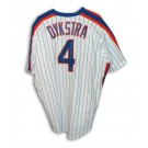 "Lenny Dykstra New York Mets Autographed White Pinstripe Majestic Jersey Inscribed with ""1986 WS Champs"""