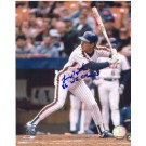 "Lenny Dykstra Autographed New York Mets 8"" x 10"" Photograph Inscribed with ""86 WS Champs"" (Unframed)"