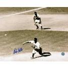 "Bob Feller Autographed ""BW Horizontal"" Cleveland Indians 8"" x 10"" Photo"