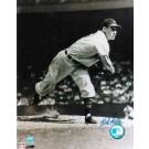 "Bob Feller Autographed ""Follow Through"" Cleveland Indians 8"" x 10"" Photo"