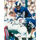 """Roman Gabriel Los Angeles Rams Autographed """"vs. the Houston Oilers"""" 8"""" x 10"""" Unframed Photograph Inscribed with """"69 MVP"""""""