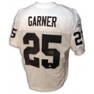 Charlie Garner Oakland Raiders Autographed Authentic Reebok NFL Football Jersey (White)