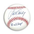 "Steve Garvey Autographed MLB Baseball Inscribed ""81 WS Champs"""