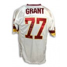 Darryl Grant Autographed Custom Throwback NFL Football Jersey (White)