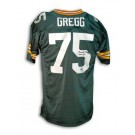 """Forrest Gregg Green Bay Packers Autographed Throwback Jersey Inscribed with """"HOF 77"""""""